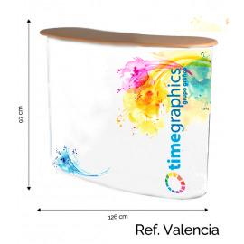 Mostrador Feria Modelo Valencia