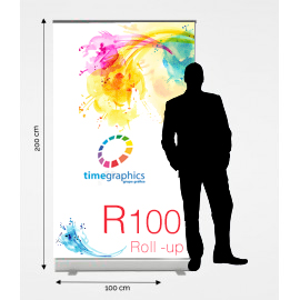 Roll up R100: 100 cm x 200 cm