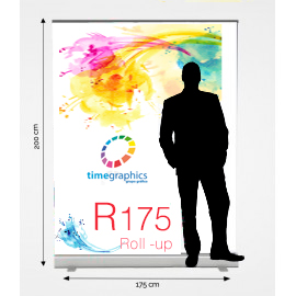 Roll Up R175: 175 cm x 200 cm