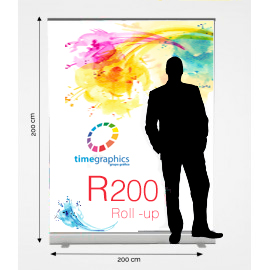Roll Up R200: 200 cm x 200 cm