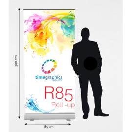 Roll up R85: 85 cm x 200 cm