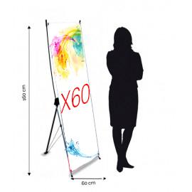 Xbanner 60x160 cm