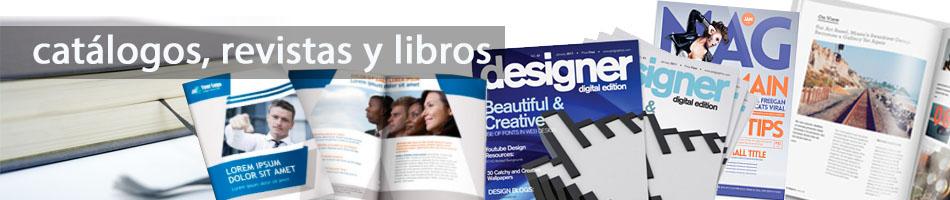 Impresión de Catálogos, Revistas y libros